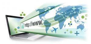 imagem de um site