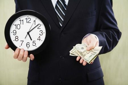 tempo eh dinheiro