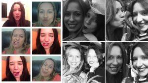 Eu e minha irmã Patrícia. Encurtando distâncias através das redes sociais, mas grudadas quando estamos juntas!