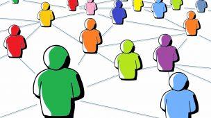 O poder das redes sociais conectando pessoas e pensamentos.