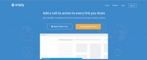 Site fácil e intuitivo, o Sniply é uma ferramenta incrível para divulgar link de afiliado.