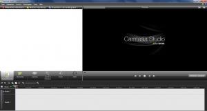Camtasia editor de vídeos.