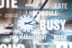 Falta de tempo é usado como justificativa para não iniciar um negócio online.