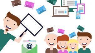 Compartilhando emails