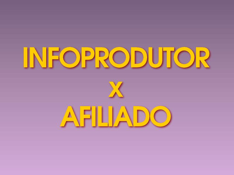 Existe uma leve diferença entre ser um infoprodutor ou um afiliado...