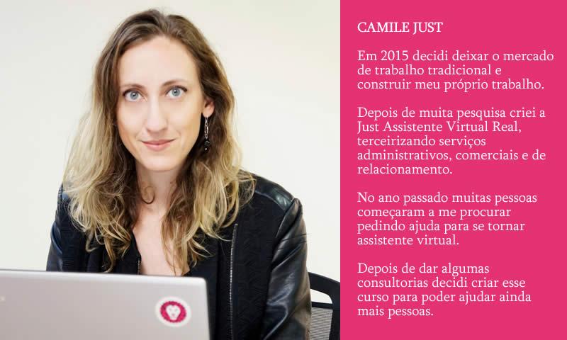 A Camile inovou e é dona de um dos maiores negócios lucrativos da atualidade.