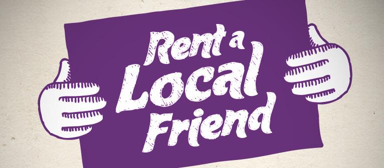 O que acha de ganhar renda extra em troca de algumas horas como amigo de alguém?