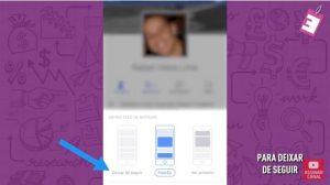 É possível deixar de seguir as pessoas no Facebook para que as postagens não apareçam no seu feed de notícias.