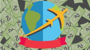 Receber dinheiro morando no exterior