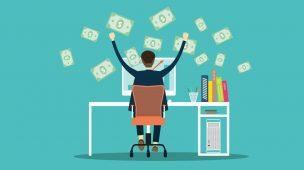 Vale a pena ganhar dinheiro online.