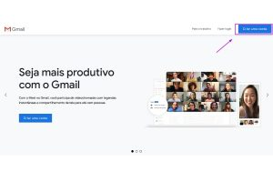 Como criar uma conta de e-mail grátis no Gmail.