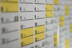 Definir seu período de ausência ajuda a programar a dinâmica do seu negócio para quando você estiver de férias.