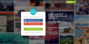 Canva.com é uma poderosa ferramenta de edição e criação de imagens.