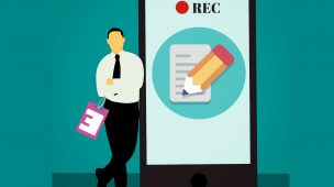 Gravar vídeos com teleprompter no celular