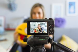 O poder de gravar vídeos.