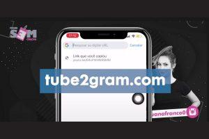 Site para converter vídeos do Youtube para o Instagram pelo celular.
